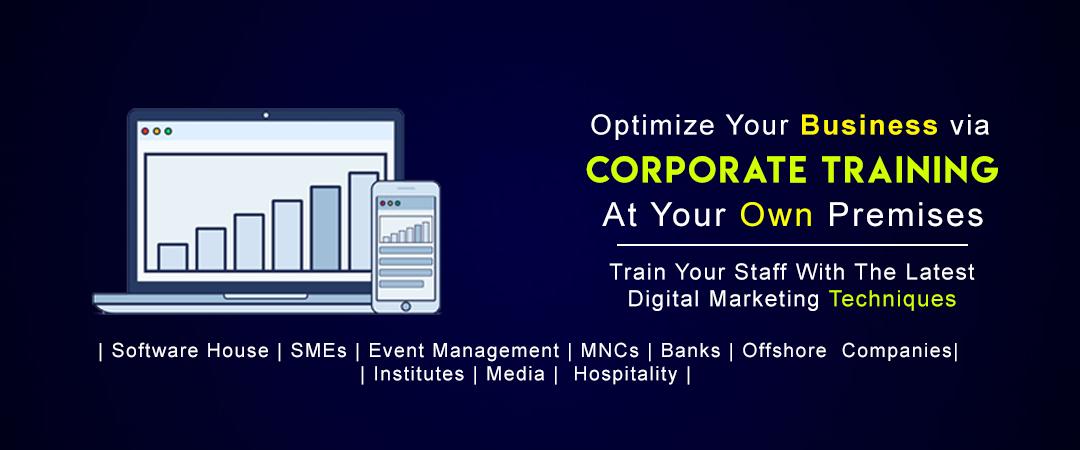 digital marketing corporate training in pakistan